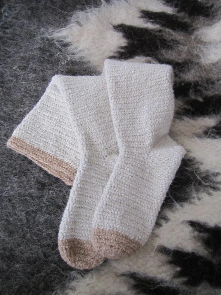 вязание, носки, реконструкция