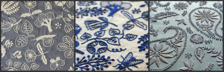 Тамбурная вышивка на одежде