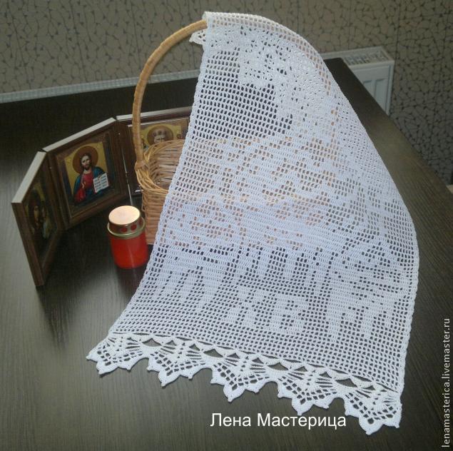 钩针教程:桌巾(大师班) - maomao - 我随心动