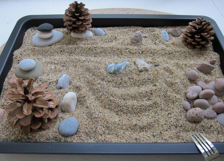 Микромиры: японские сады камней, фото № 14