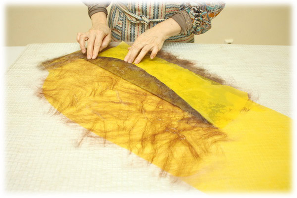 From Simple to Complex: Felting a Jacket with a Yoke, фото № 11