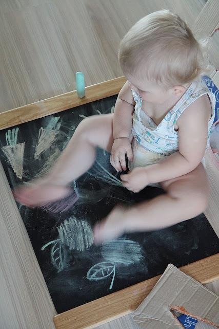 Как рисовать с малышом полутора лет, фото № 4