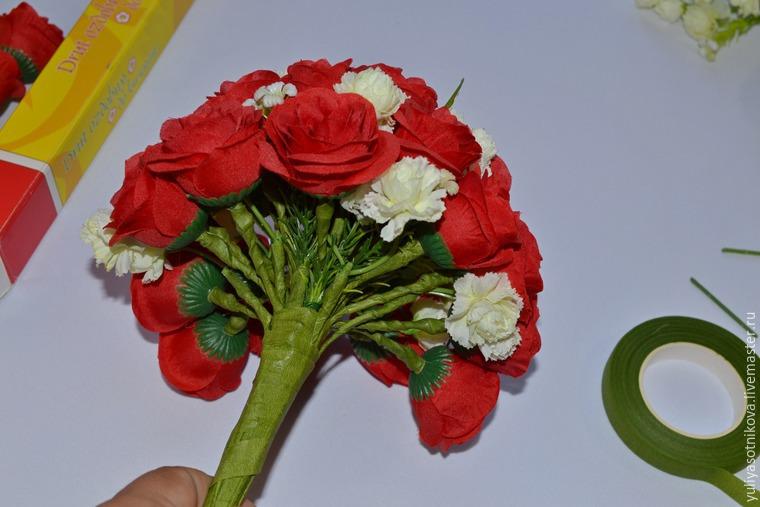 Искусственный цветок мастер класс