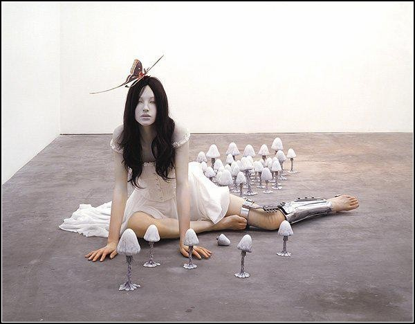 Динамика и футуризм в скульптурах Мотохико Одани (Motohiko Odani)