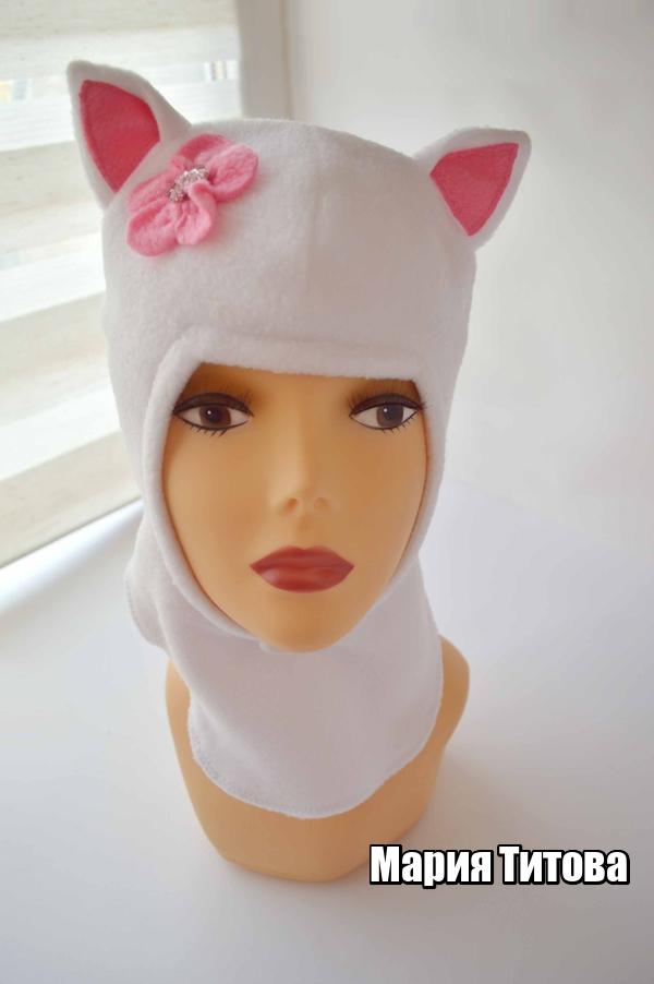 Как сшить котенку шапку 60