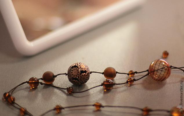 бусина, ожерелье, превращение