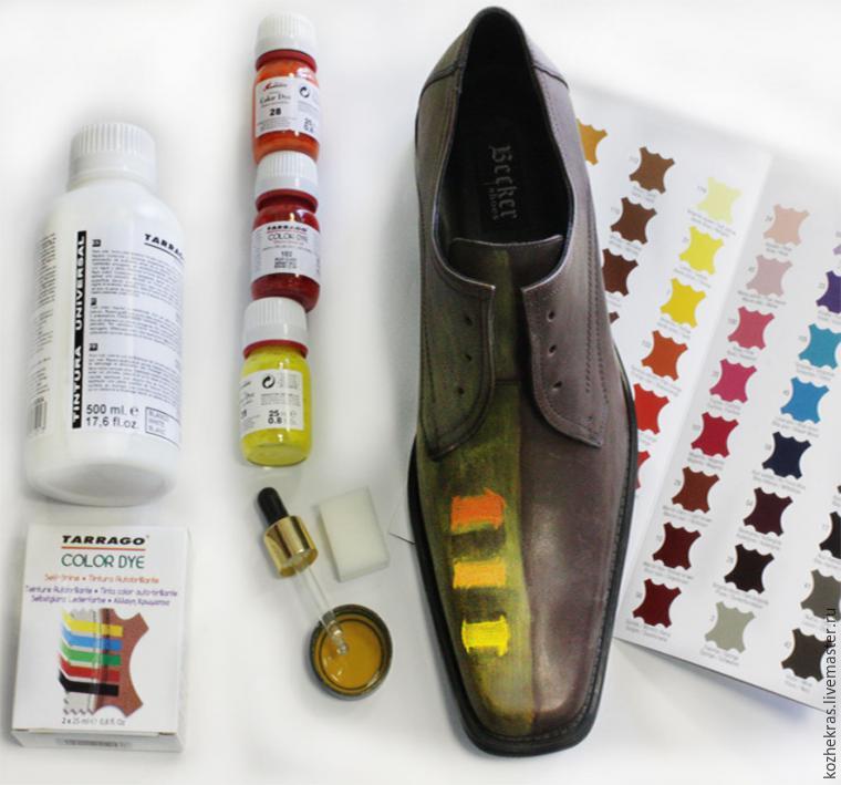 Преображаем туфли с помощью акриловых красителей, фото № 4