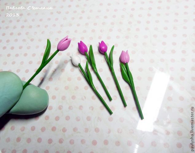 Картинки Картинки: Как сделать тюльпан из фоамирана Мастер класс