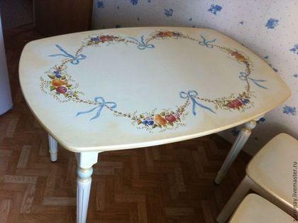 роспись мебели, обучение росписи, мебельные фасады