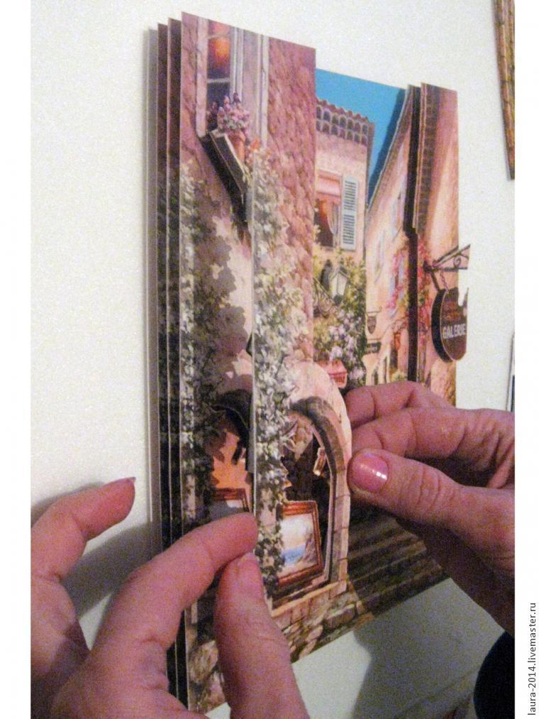 3D картина своими руками. Папертоль или 3D декупаж, фото № 13