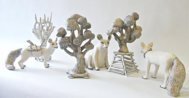 Керамические скульптуры Katharine Morling, фото № 22