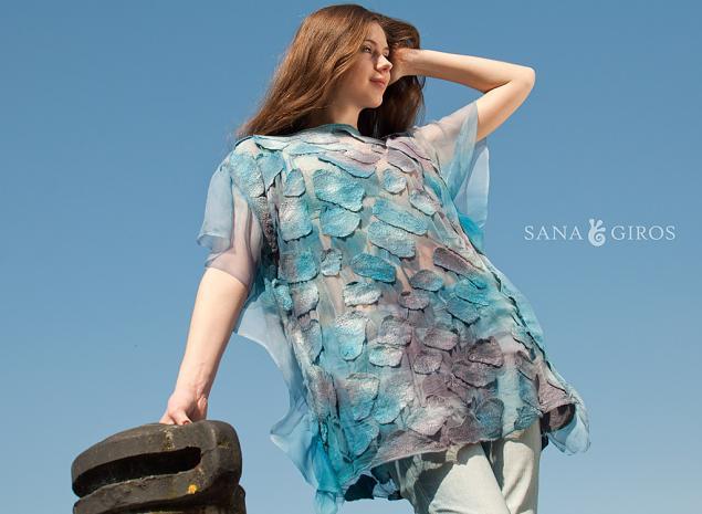 нунофелтинг, шелк, пляжная мода