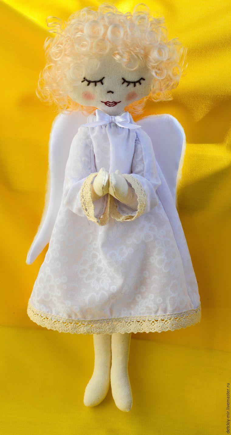 Куклы ангелы текстильные своими руками