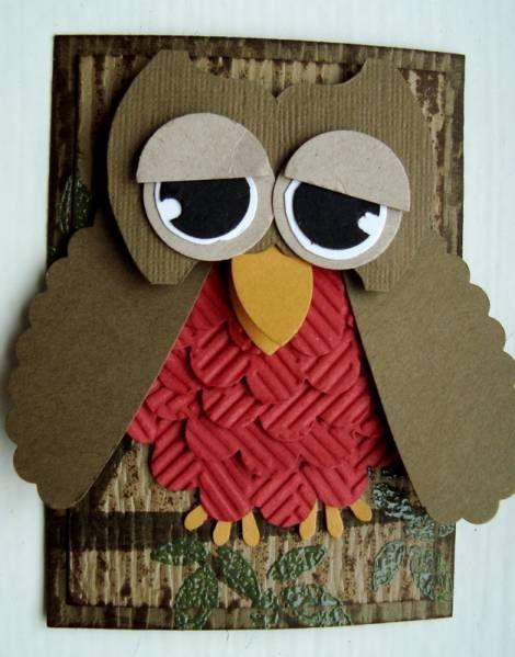 Punch Art Owl