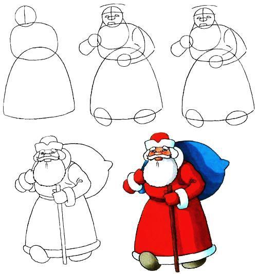 Дед мороз и сани иКак Как украсить