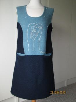 платье, линия