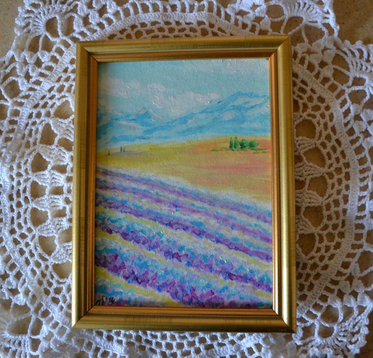 живопись, анна кшановская-орлова, италия