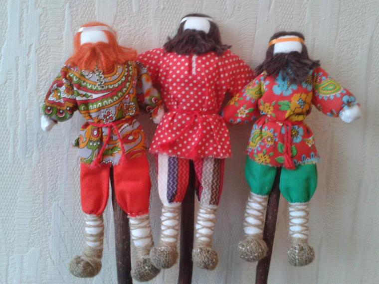 женщине, маме, необычный, кукла, мужики-кулаки