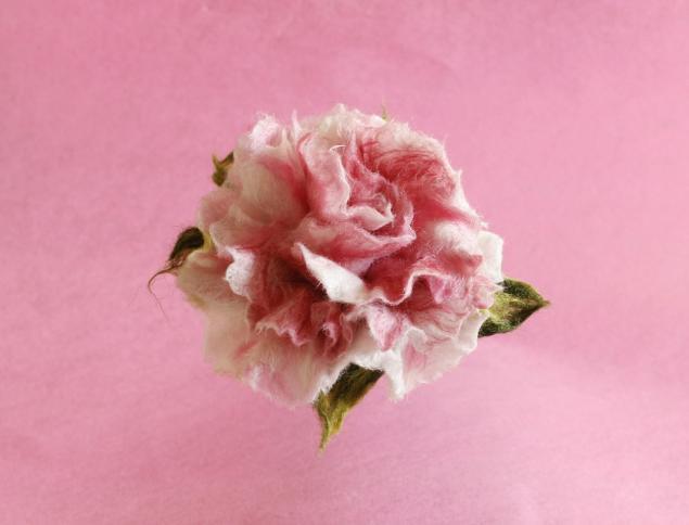 Фото цветов из валяной шерсти