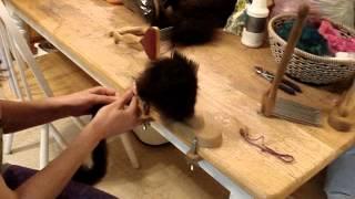 пряжа, подготовка шерсти