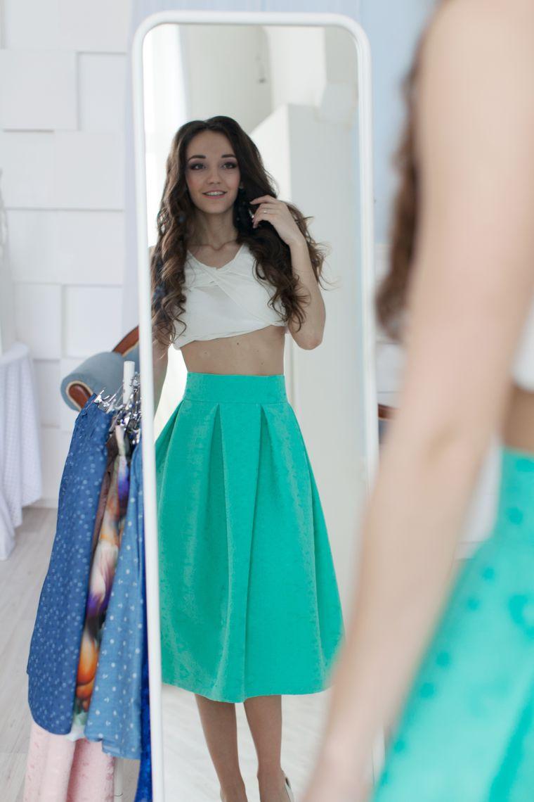 распродажа, скидка, скидка 1000 р, юбка со скидкой, юбка солнце, юбка в полоску, юбка в складку