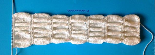 Вяжем повязку на голову «жатка», фото № 9