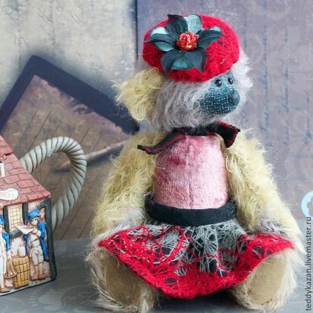Аукцион с НУЛЯ Тедди мишка Кармэша, фото № 1
