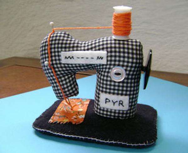 Игольница для швейной машинки своими руками