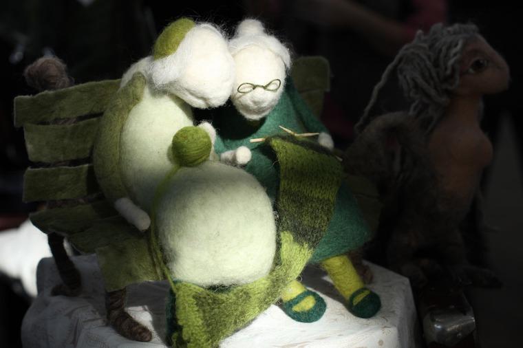 Международной выставка авторских кукол и мишек «Панна DOLL'я» в Минске. Часть 1., фото № 21