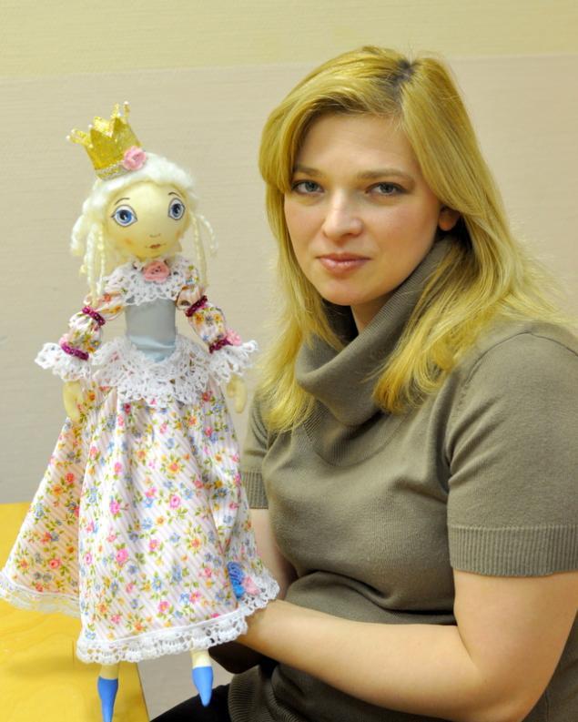 мк текстильная кукла