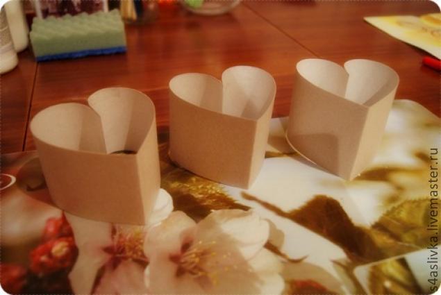 Сделать формы для свечей