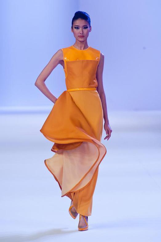 Stephane Rolland Haute Couture весна-лето 2014, фото № 12