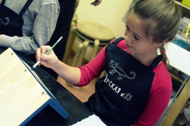 Отчёт о мастер-классе по кормушкам 26.01.2014, фото № 4