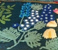 """钩针床罩毯""""盛开的花园—森林龙""""(大师班) - maomao - 我随心动"""