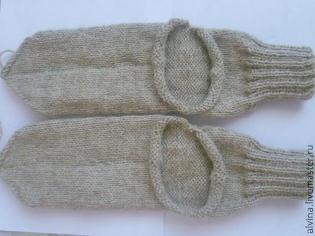 вязаные шерстяные носки с запаской мастер класс для начинающих и