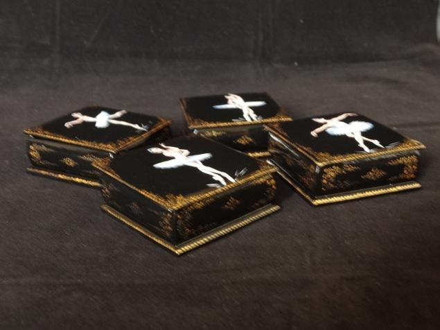 шкатулка, лаковая миниатюра, шкатулка в подарок, недорого