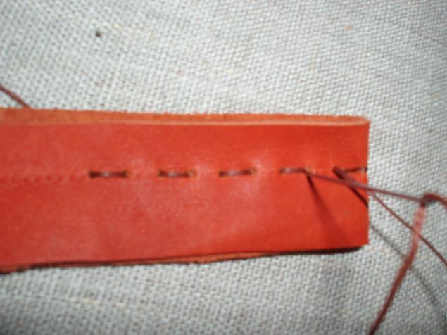 5472f0d9ba69 Мастер-класс: ручной шов по коже – мастер-класс для начинающих и ...