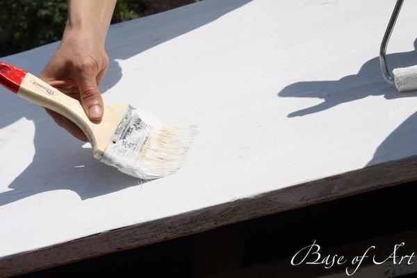 роспись комода