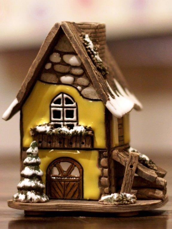 Глиняные домики своими руками 67