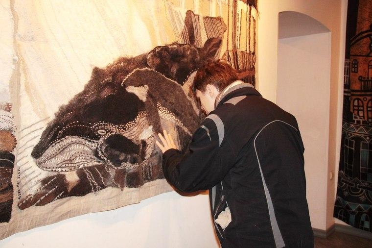 выставка 2014, текстиль в интерьере, керамика, войлок
