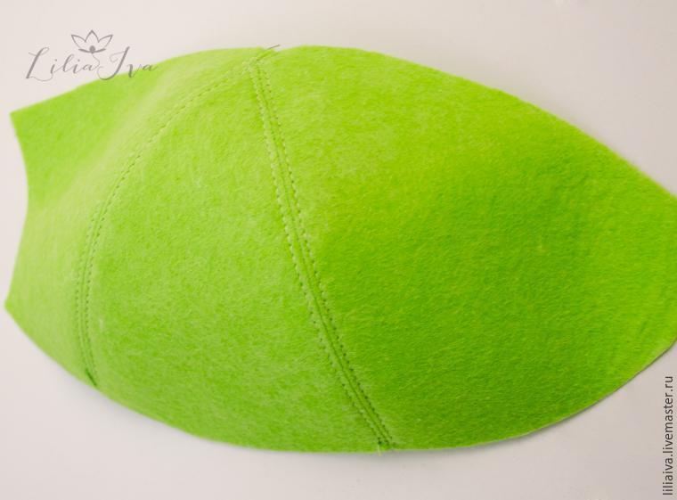 Шьем шапочку-капусту для детского капустника, фото № 5