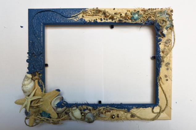 Рамки для фото своими руками в морском стиле