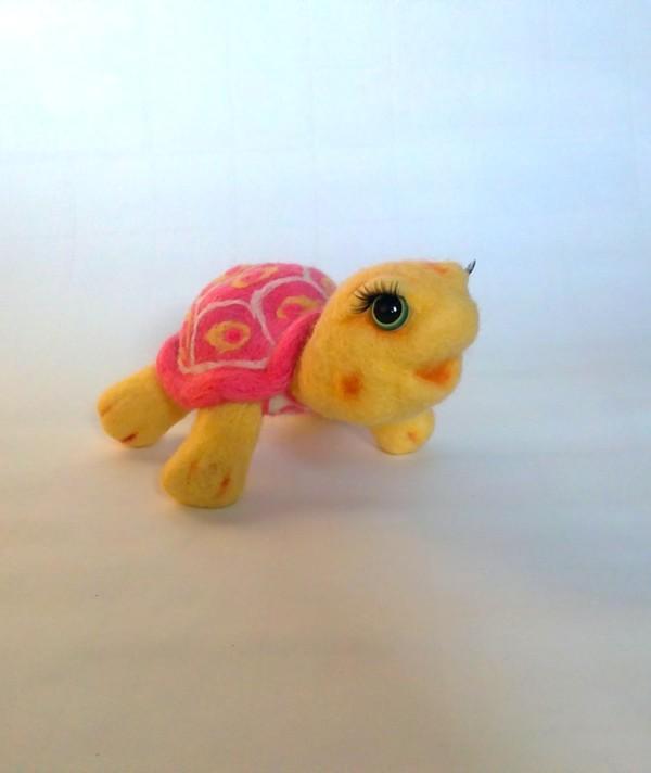 конфетка, черепаха, розовый