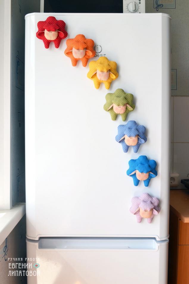 красноярск, сувенир, овца, текстильная игрушка