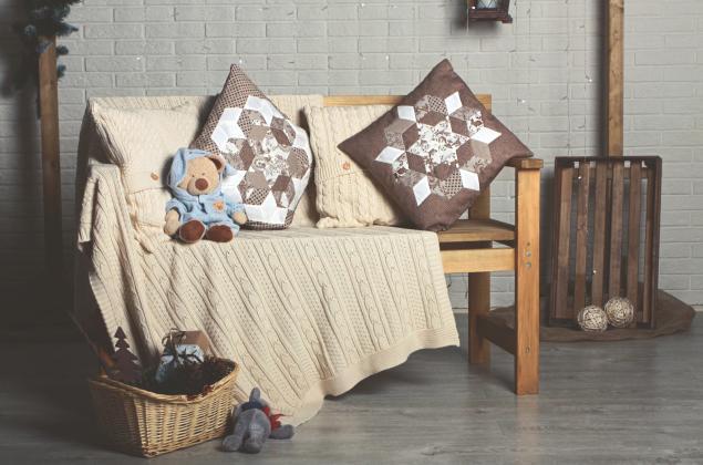подушки, ткани для пэчворка