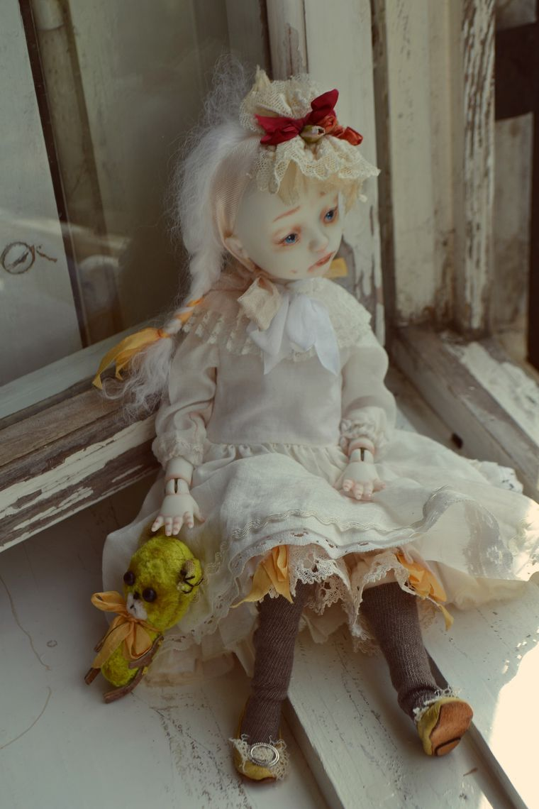 фарфоровая кукла, шарнирные куклы, авторская кукла, день рождения