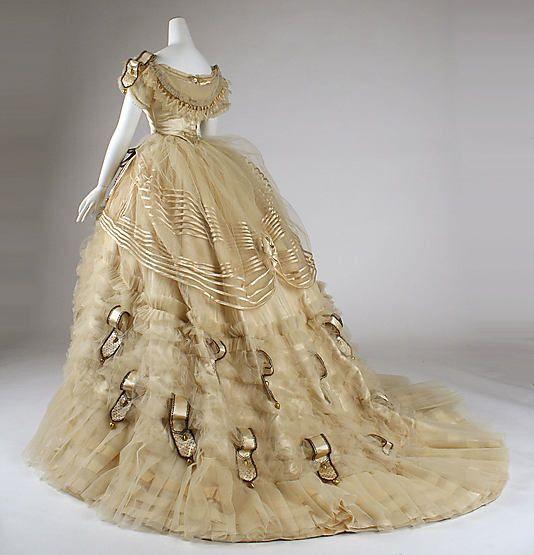 Старинное платье на бал