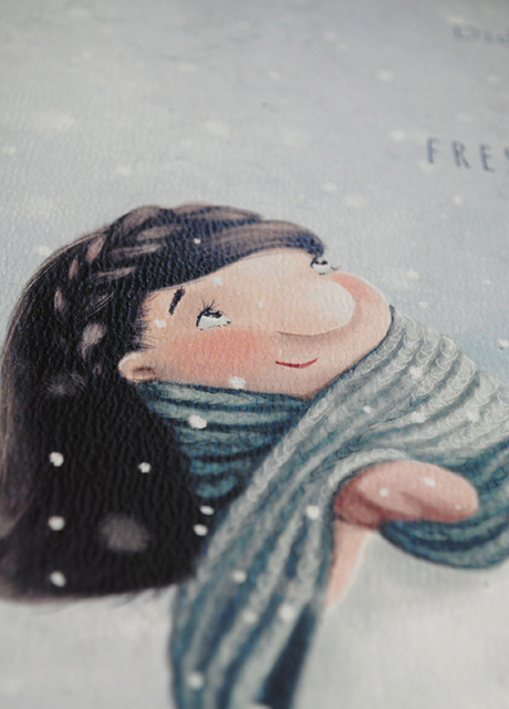 First Snow Fairy close up