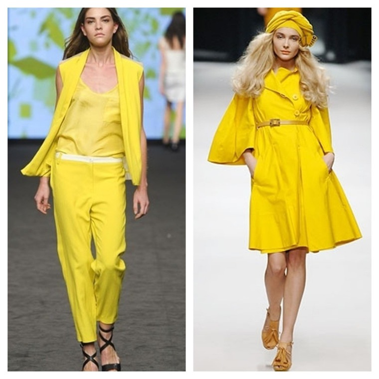Что означает жёлтый цвет в одежде