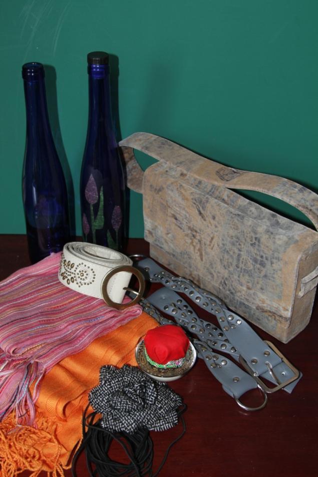 синий, женская сумка, ремни женские, для творчества, шарф